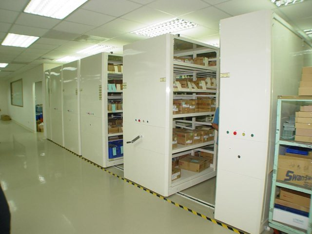 Automatic Mobile Shelving_009